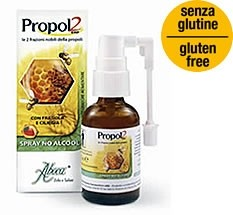 Aboca Propol2 EMF Spray No Alcool 30 ml Gola gusto fragola e ciliegia