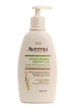 Aveeno daily moisturising Crema Olio Idratante Corpo con olio di mandorle