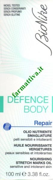Bionike defence body Repair olio nutriente smagliature 100ml