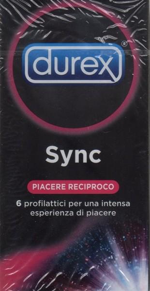 Durex Sync piacere reciproco 6pz