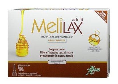 Melilax Adulti Microclismi Doppia Azione Stipsi