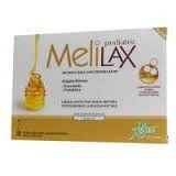 Aboca Melilax Pediatric Microclismi 6 Pezzi Stipsi