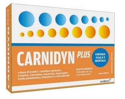 Carnidyn Plus 20 Bustine Energetico