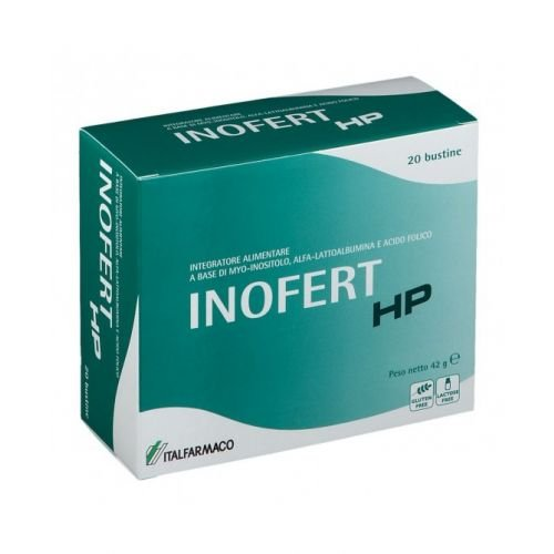 Inofert Hp 20 Bustine Acido Folico e Inositolo