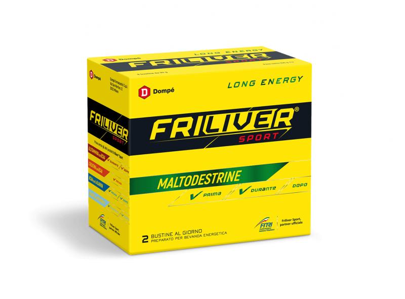 FRILIVER SPORT LONG ENERGY MALTODESTRINE 8 BUSTINE