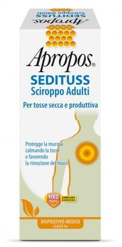 Apropos Sedituss  sciroppo adulti tosse secca e produttiva