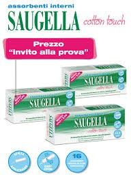 Saugella cotton touch assorbenti interni Super