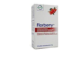 Florberry Con Mirtillo Rosso 10 Bustine Sistema Urinario