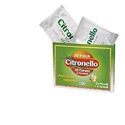 Sella Citronello cerotti protezione zanzare 24piccoli+6 grandi