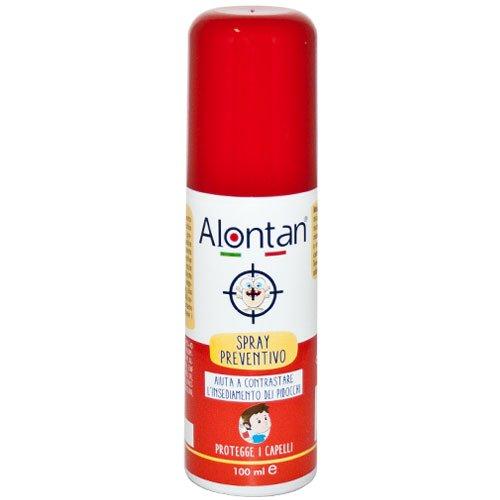 Alontan Spray Preventivo Contrasta l'isediamento dei pidocchi 100ml