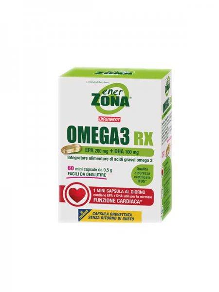 Enervit EnerZona Omega 3 RX per una normale Funzione Cardiaca