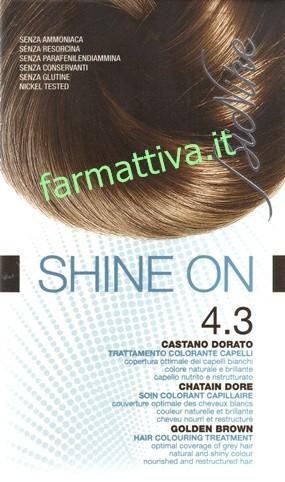 Bionike shine on n.4.3 castano dorato