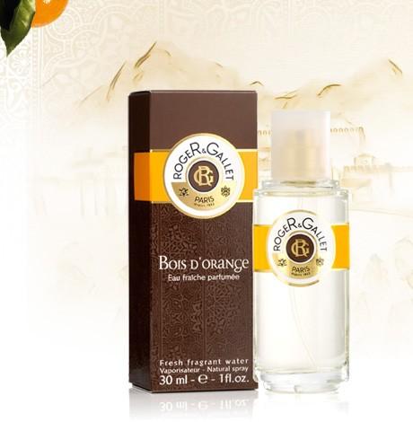 Roger e Gallet Bois D'Orange acqua fresca profumata tonificante 30ml