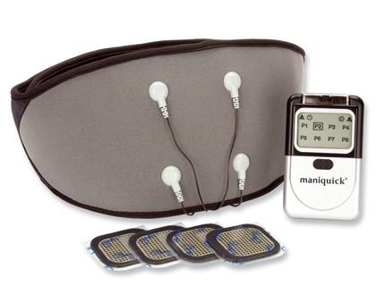 ManiquickTerapy Quick Trattamento TENS/EMS per  il mal di schiena