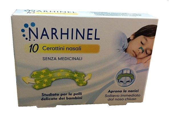 Narhinel 10 Cerotti nasali per bambini