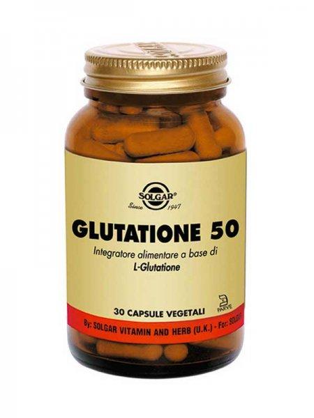 Glutatione 50 30 Capsule Vegetali