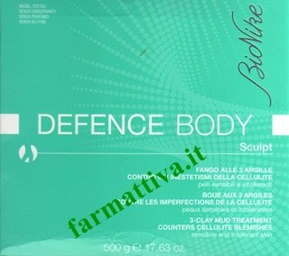 Bionike Defence Body Sculpt Fango alle 3 argille
