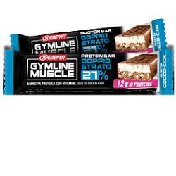 Enervit Gymline Muscle barretta proteica doppio strato 27%