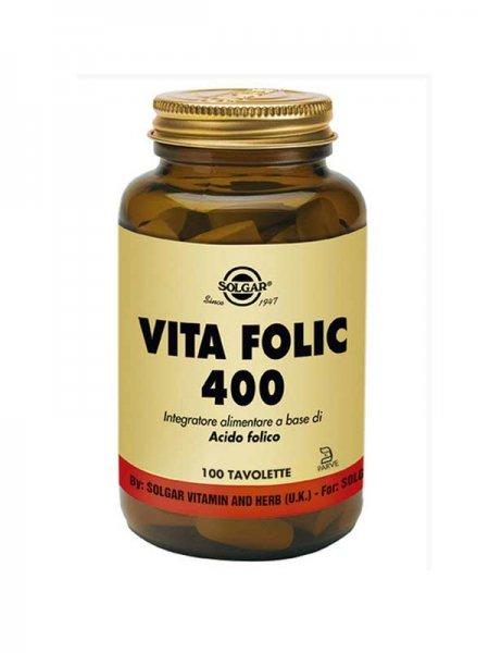 SOLGAR VITA FOLIC 400 - 100 TAVOLETTE