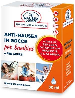 SEA BAND P6 NAUSEA CONTROL ANTI NAUSEA IN GOCCE ADULTI E BAMBINI