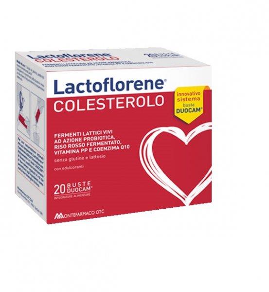 Lactoflorene Colesterolo 20 Bustine Fermenti Lattici e Riso Rosso