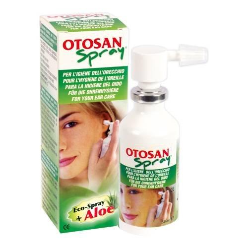 Otosan Spray con Aloe per l'igiene dell'orecchio 50ml