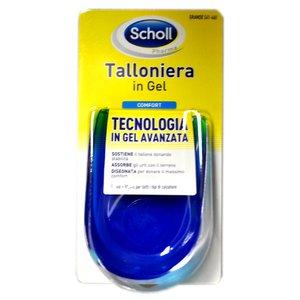 Scholl Talloniera in Gel standard Ideale per tutti i tipi di calzature Misura Grande(41-46)