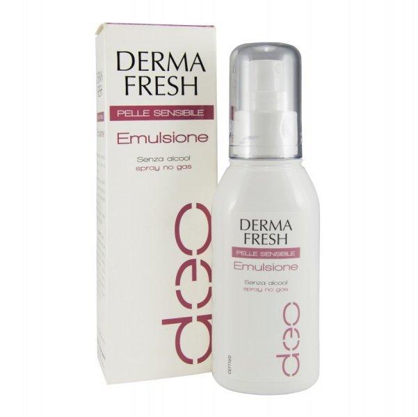 Dermafresh Emulsione Deodorante Pelle Sensibile Spray 75ml