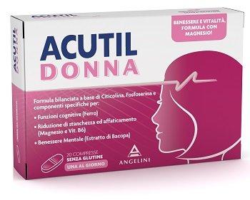 Acutil Donna 20 Compresse Benessere Mentale