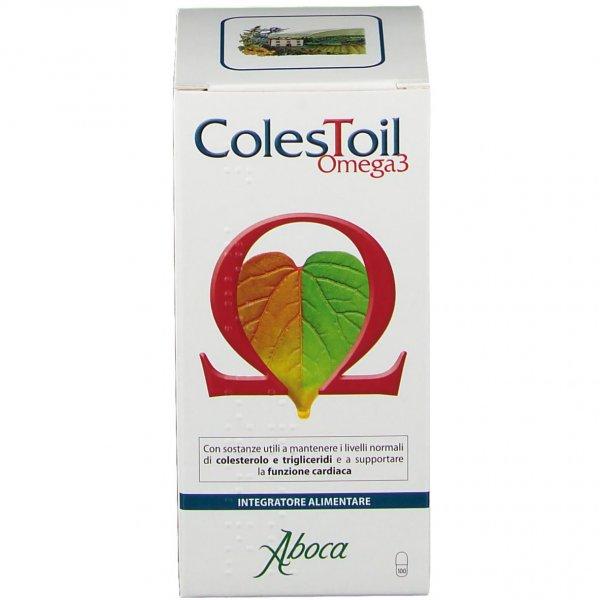 Aboca ColesToil Omega3 100 Opercoli Colesterolo