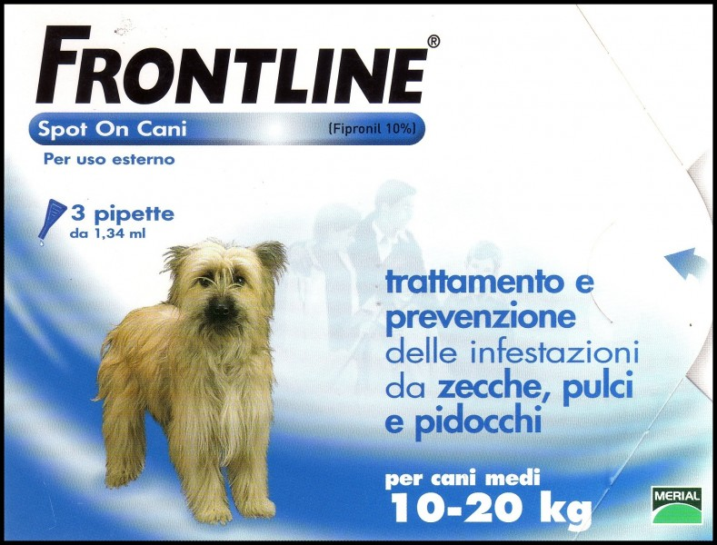 Frontline spot on cani 10-20kg