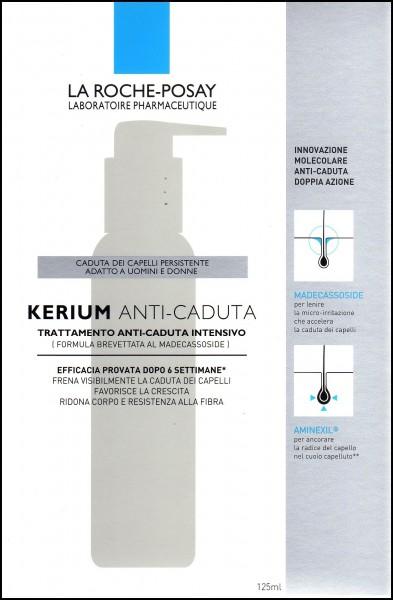 La Roche Posay kerium trattamento anti-caduta intensivo