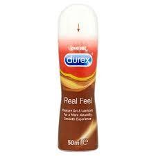 Durex Real Feel Pleasure gel per un contatto naturale e vellutato