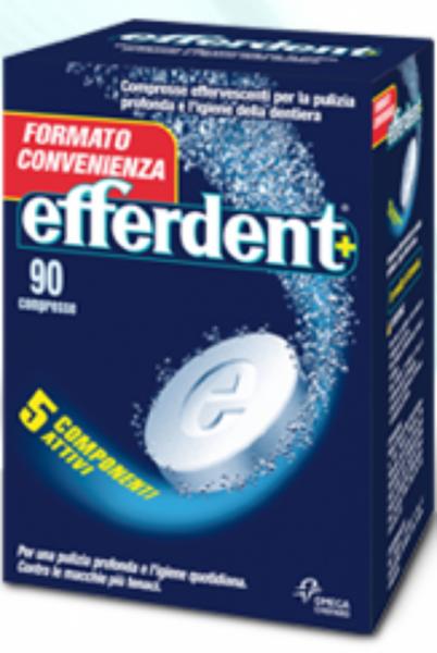 Efferdent 90 compresse effervescenti per la dentiera