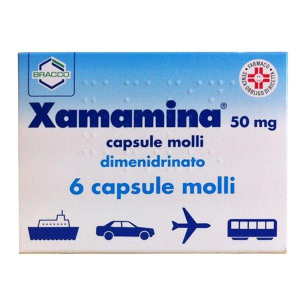 XAMAMINA 6CAPSULE 50MG