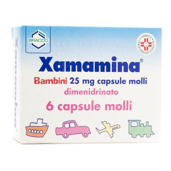 XAMAMINA*BAMBINI 6 CAPSULE 25MG