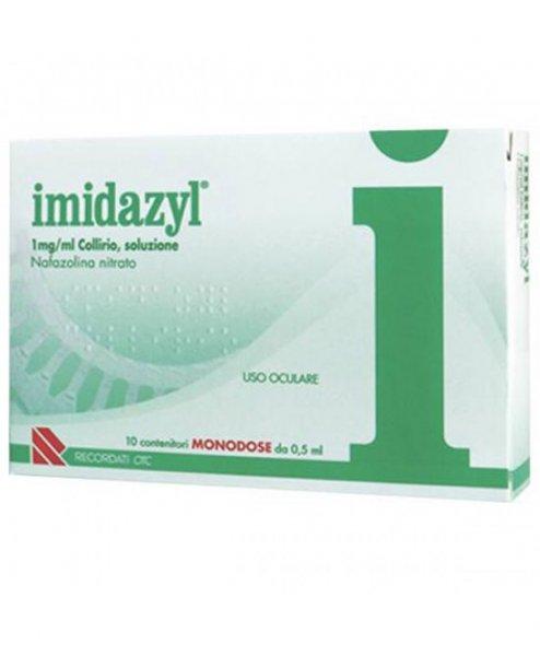 IMIDAZYL COLLIRIO 10FL 1D 1MG/ML