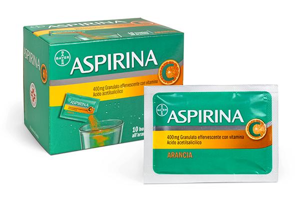 ASPIRINA 10BUSTINE GUSTO ARANCIA