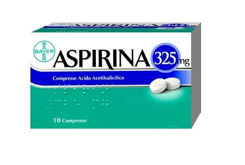 ASPIRINA 10 COMPRESSE 325MG