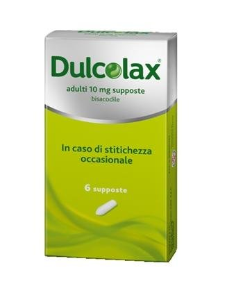 DULCOLAX AD 6SUPPOSTE 10MG