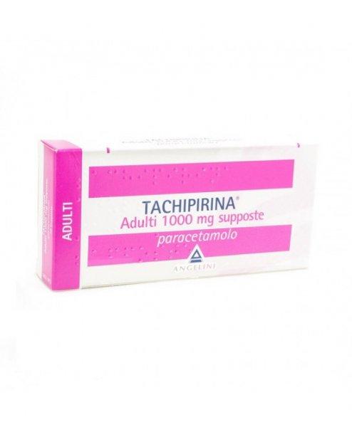 Tachipirina Adulti 1000 mg 10 Supposte Paracetamolo Antipiretico Analgesico