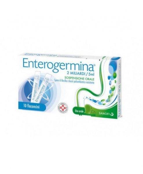 ENTEROGERMINA*OS 10FIALEL 2MLD/5ML