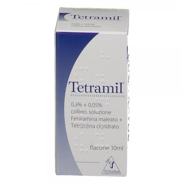 Tetramil Collirio 0,3%+0,05% 10 ml Decongestionante