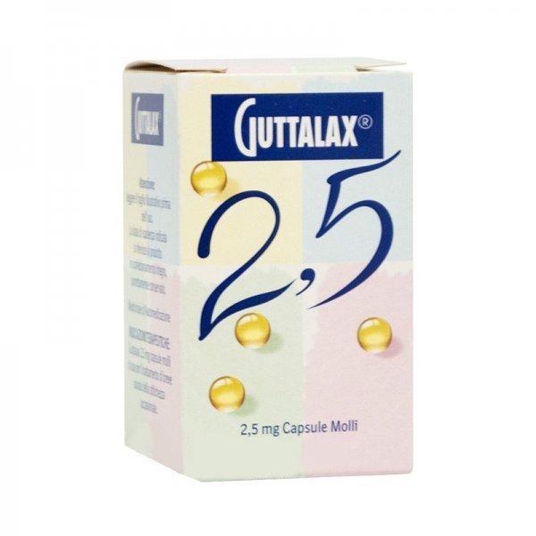 GUTTALAX 30CAPSULE MOLLI 2,5MG