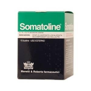 Somatoline Emulsione Cutanea 0,1+0,3% Anti cellulite 15 Bustine