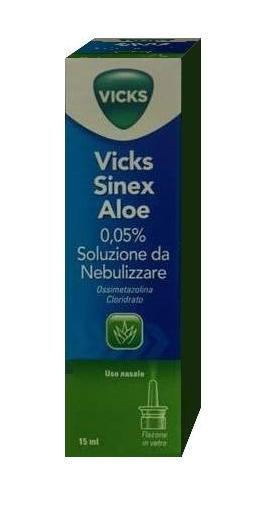 Vicks Sinex Aloe 0,05% Soluzione Da Nebulizzare 15 ml