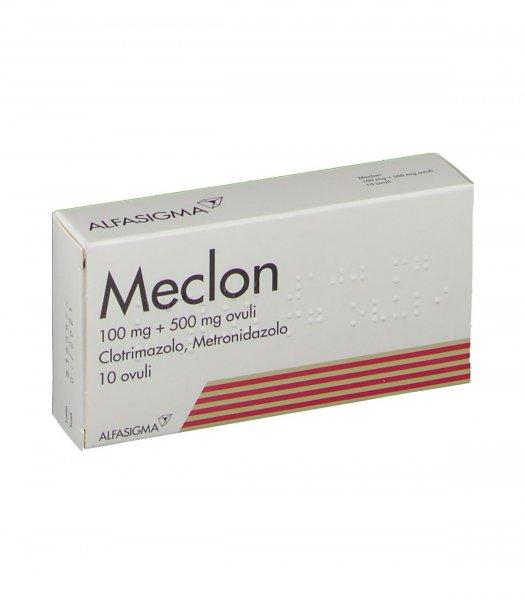 MECLON 10 OVULI VAG 100+500MG