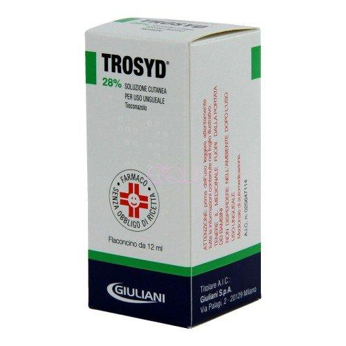 TROSYD*SOLUZ UNGUEALE 12ML 28%
