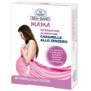 Sea Band Mama caramelle allo zenzero anti nausea