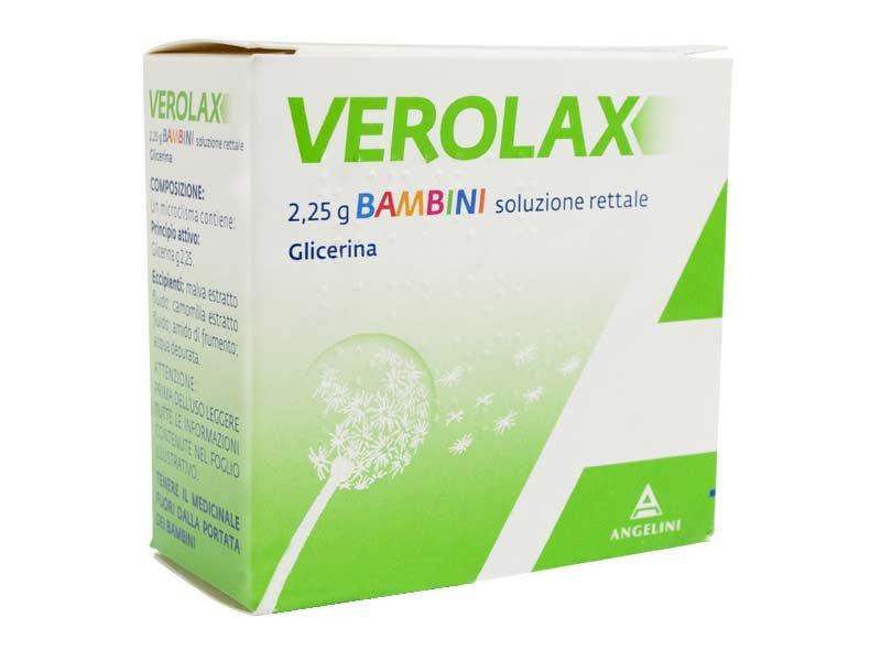 VEROLAX BAMBINI RETT 6CLISMI 2,25G